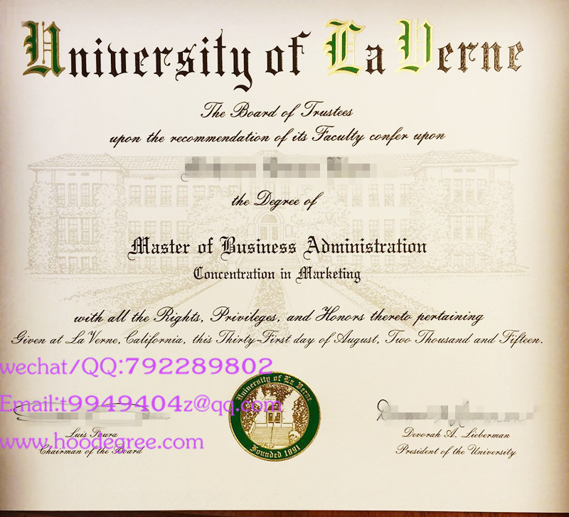 美国拉文大学学位证University of La Verne degree certificate