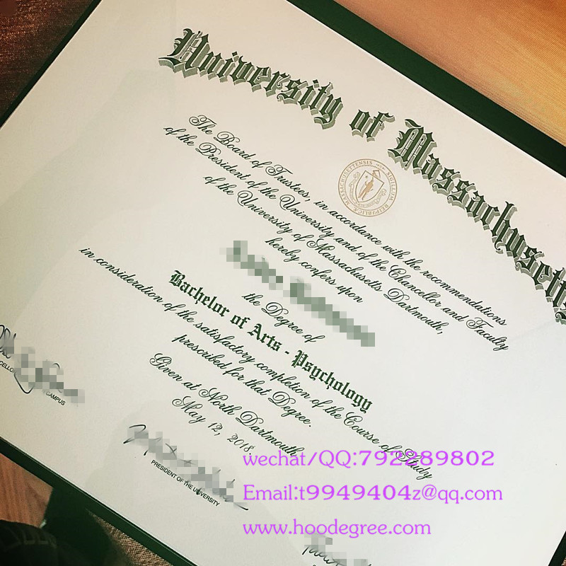 美国麻省大学达特茅斯分校毕业证University of Massachusetts at Dartmouth degree certificate